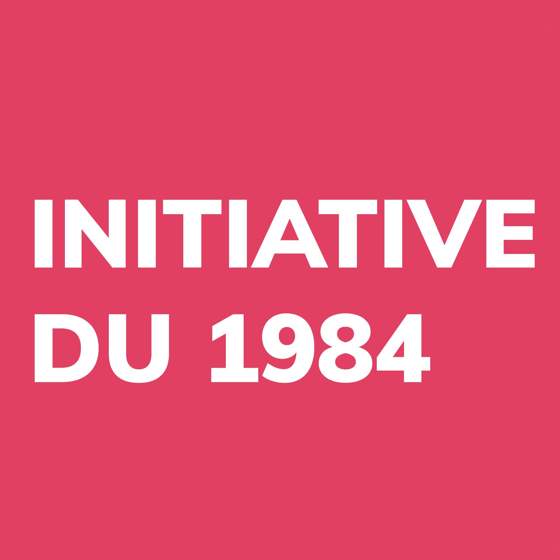 Initiative DU 26. August 1984