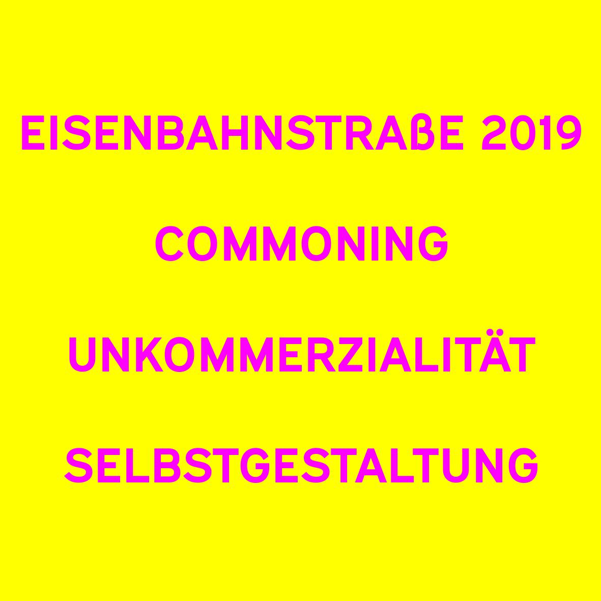 Eisenbahnstraße 2019