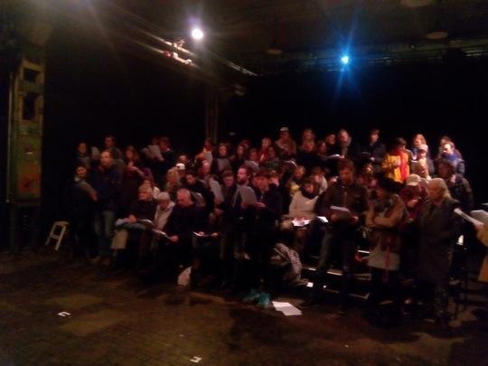 Publikum als Chor