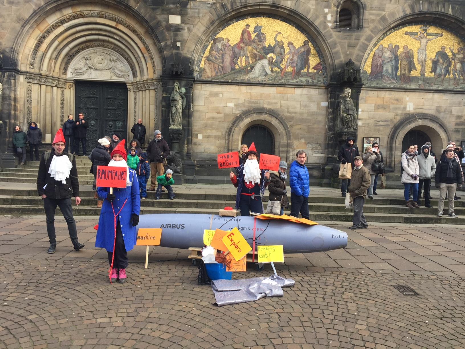 Bremen, Sambakarneval im Motto des Raumfahrtjahrs