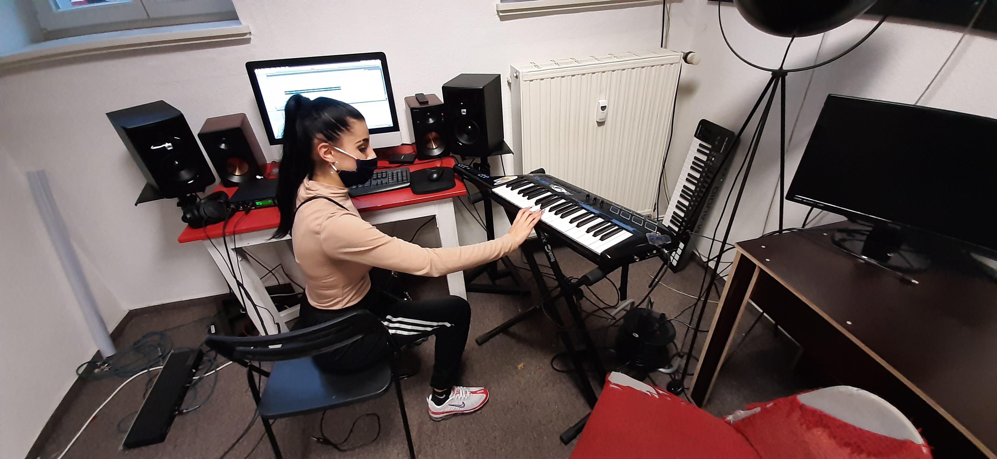 Beim Komponieren